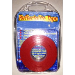 Red reflective adhesive Nautical Tape